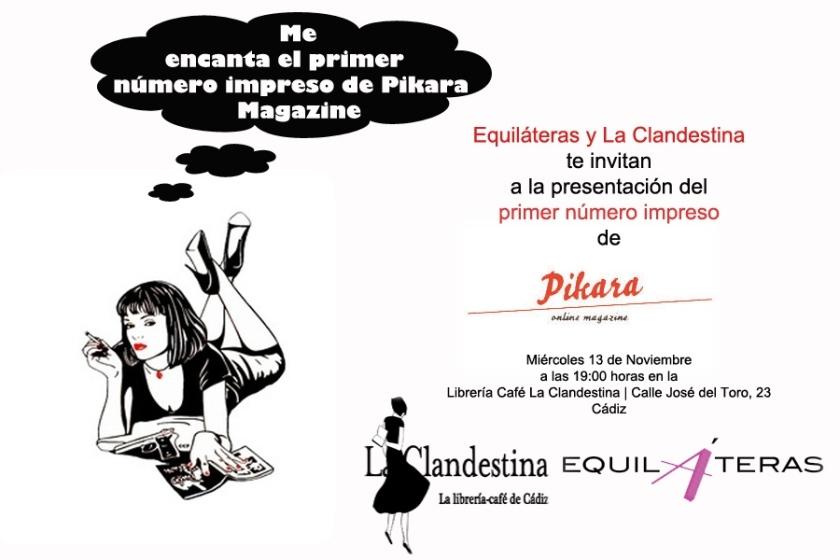 Organiza Equiláteras y La Clandestina.